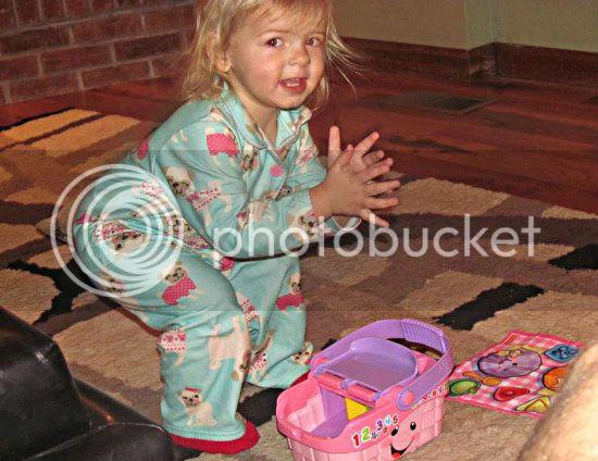 Christmas 2012: Lily Christmas toys