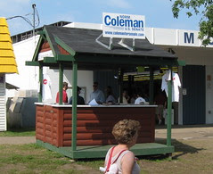 Coleman for Senate Booth