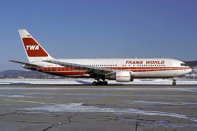 TWA-Trans World Airlines Boeing 767-231 ER N602TW (msn 22565) ZRH (Rolf Wallner). Image: 913076.