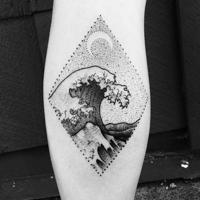 90 Remarkable Wave Tattoo Designs The Best Depiction Of The Ocean