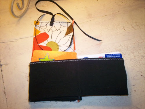 Inside the wallet