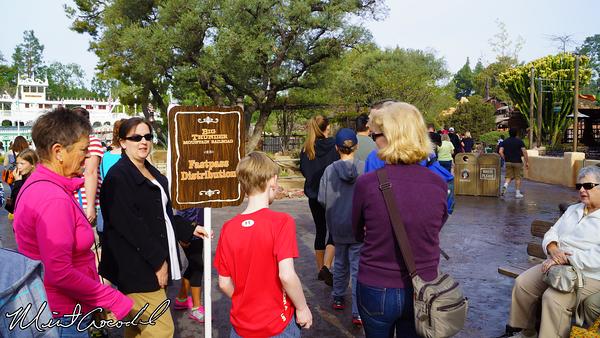 Disneyland Resort, Disneyland, Big Thunder Mountain Railroad, FastPass, Distribution