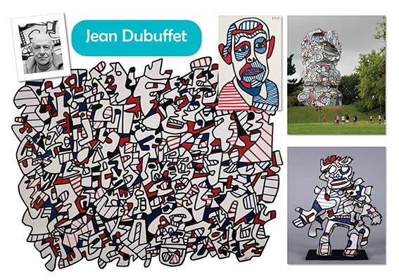 """Résultat de recherche d'images pour """"dubuffet maternelle"""""""