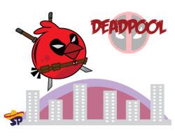 Angry Deadpool