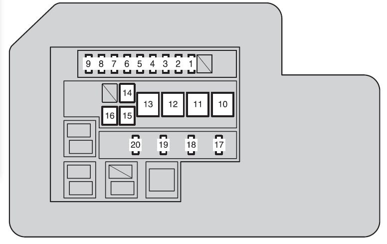 2010 F150 Fuse Box Diagram