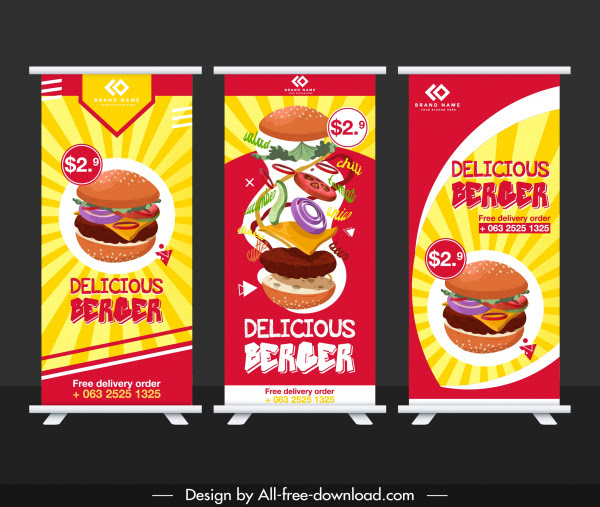 Desain Banner Untuk Makanan - gambar spanduk