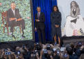 Obama's official portrait unveiled