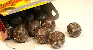 I LOVE chocolate glazed timbits. i can eat a w...