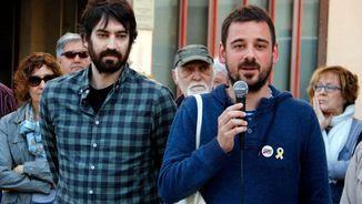 Els dos militants de la CUP investigats per la vaga general del 8N agraint el suport que han rebut (ACN)