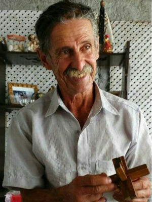 Cristovão Pereira dos Santos morava há apenas uma semana no asilo (Foto: Arquivo Pessoal)