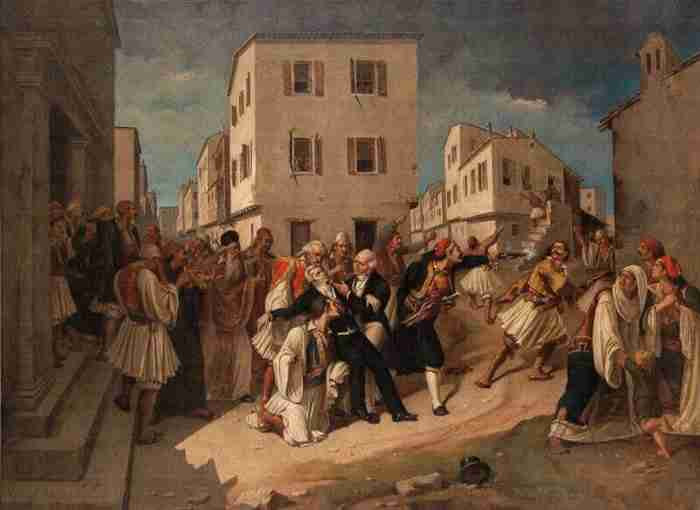 Ιωάννης Καποδίστριας: Ο Έλληνας που αγάπησε όσο ελάχιστοι τον τόπο του και ανταμείφθηκε από τους συντοπίτες του με σφαίρες