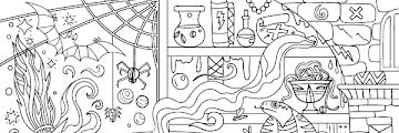 Halloween Coloring Pages For Adults Free Pdf