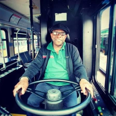 Robert Duncan foi eleito o Motorista do Ano de 2013 da Metro