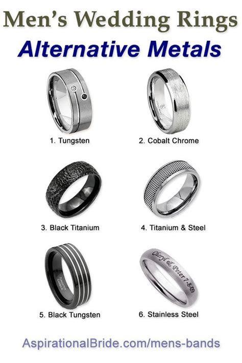 Men wedding rings, Alternative wedding and Wedding ring on