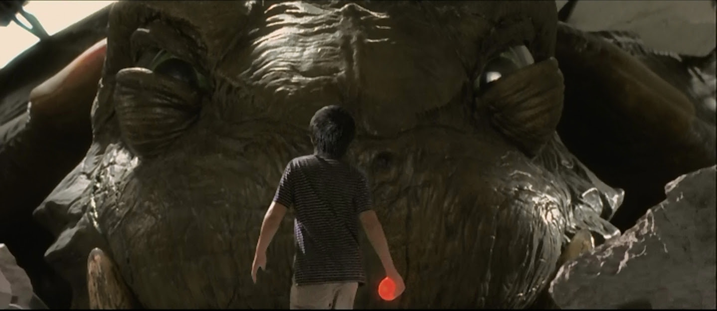 Face to face with Gamera