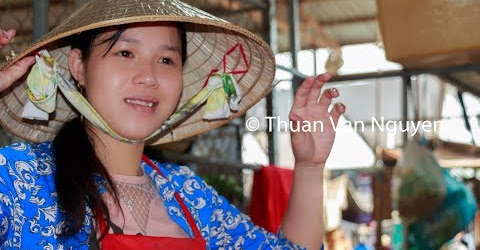 Vietnam || Vinh Thanh Village Market || Can Tho City