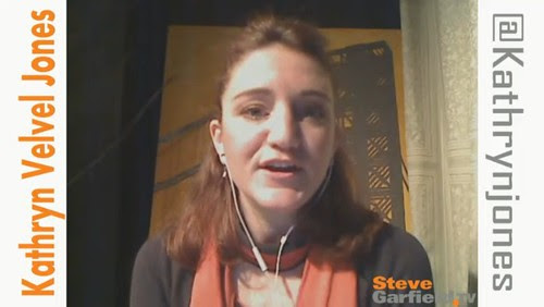 Kathryn Jones on SteveGarfield.tv