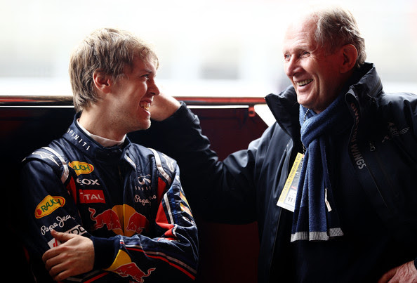 Dr Helmut Marko - F1 Testing in Barcelona - Day Four