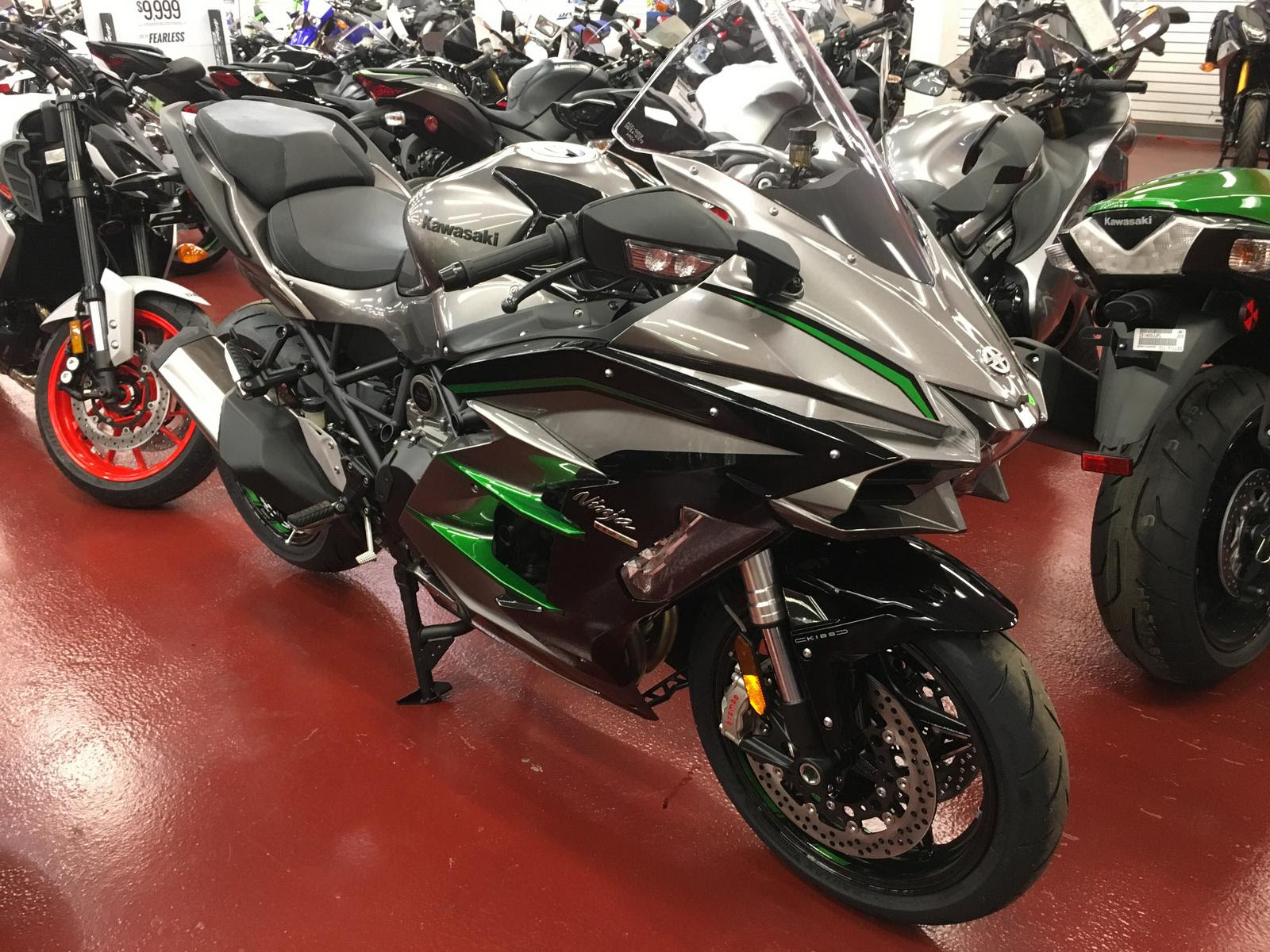 2019 Kawasaki Ninja H2 Sx Se