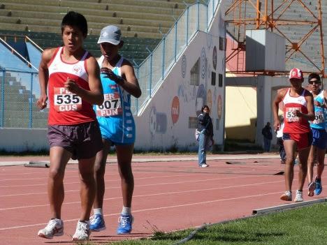 A - medalla de Oro en marcha atletica