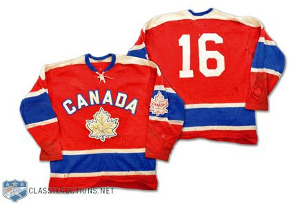 Canada 1964 Olympic jersey photo Canada 1964 Olympic jersey.jpg
