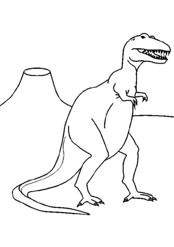 Coloriages Tyrannosaurus Rex Frhellokidscom