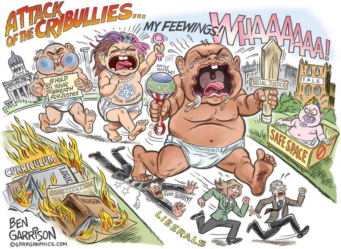 Risultati immagini per ben garrison political cartoons