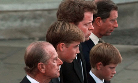 princess diana funeral william and harry. Diana funeral