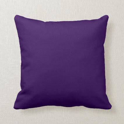 Dark purple background throw pillows
