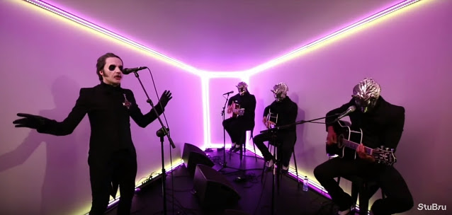 Watch GHOST Perform Acoustic Version Of 'Dance Macabre' At Belgium's STUDIO BRUSSEL