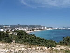 Playa D'en Bossa beach