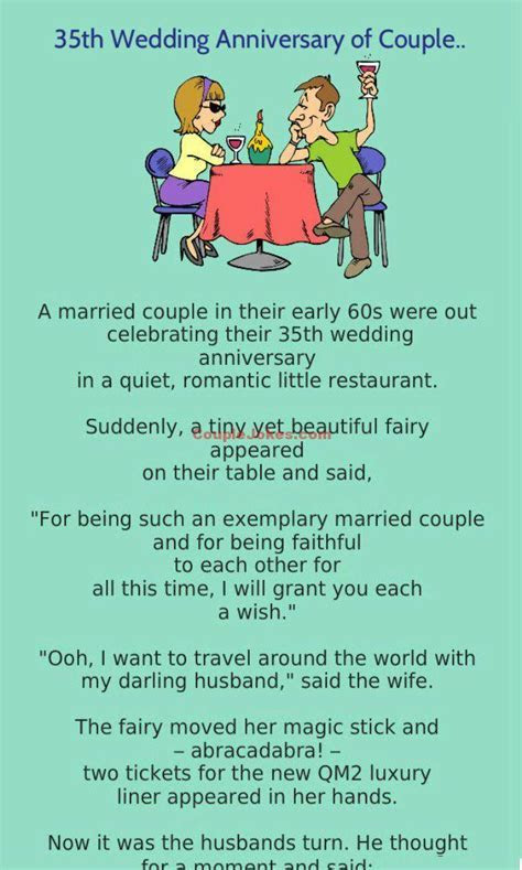 A Couple was celebrating 35th Wedding Anniversary