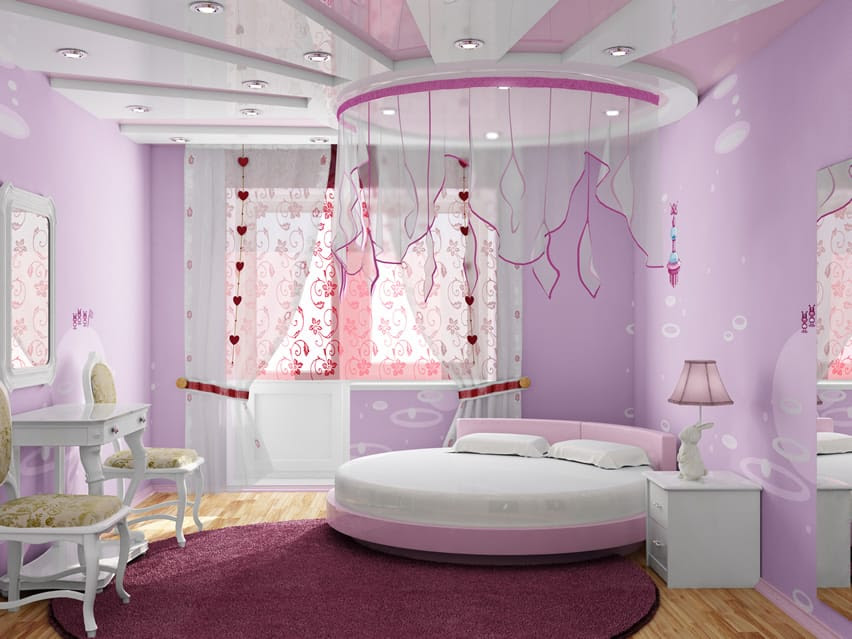 27 Beautiful Girls Bedroom Ideas  Designing Idea