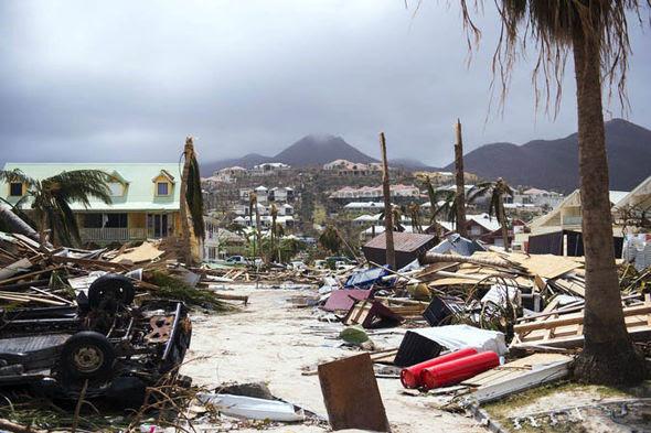 Image result for Hurricane Irma damage images