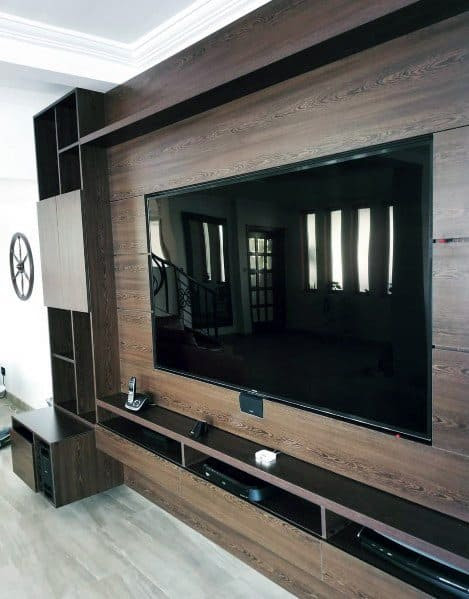 Top 70 Best TV Wall Ideas - Living Room Television Designs