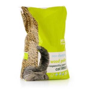Pets at Home Wood Pellet Non Clumping Cat Litter 30L | Pets At Home