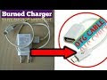 How to make OTG cable with Burned Mobile Charger (Homemade DIY)