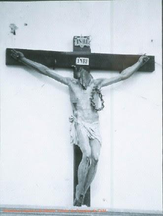 Cristo destruido en la Gurra Civil en el Hospital Tavera (Toledo)