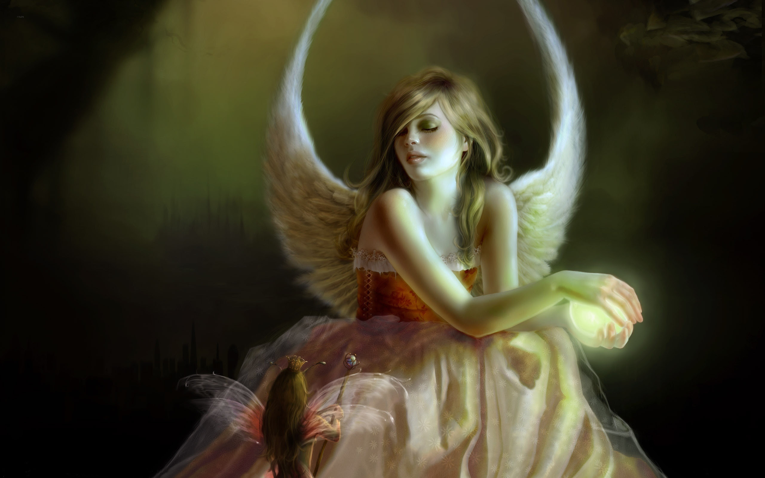 Angel Fairies Wallpaper 56 Images