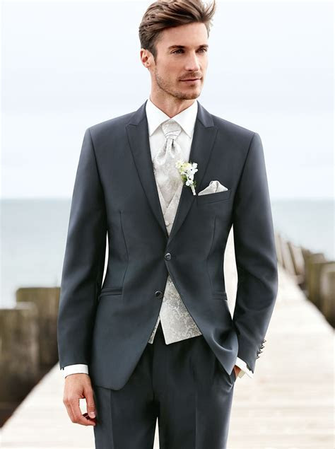 Anthracite Grey Wedding Suit   Tom Murphy's Formal and