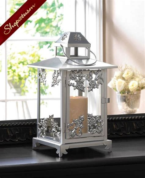 12 Wholesale Lanterns Ornate Wedding Centerpieces Silver