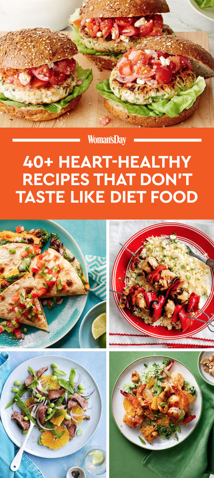 55 Heart-Healthy Dinner Recipes That Don't Taste Like Diet ...