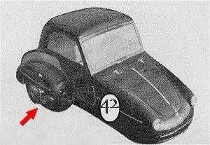 racing r tro voiture vespa 3 roues. Black Bedroom Furniture Sets. Home Design Ideas