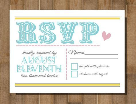 How To Use RSVP with 20 Awesome Wedding Guest Reply Card