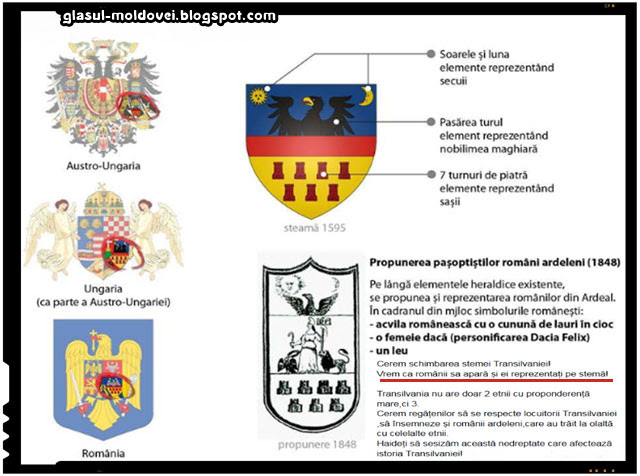 Romanii vor s fie si ei reprezentati pe stema Transilvaniei, sursa imagine: balaurulroman.wordpress.com