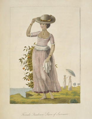 Female Quadroon, Slave of Surinam