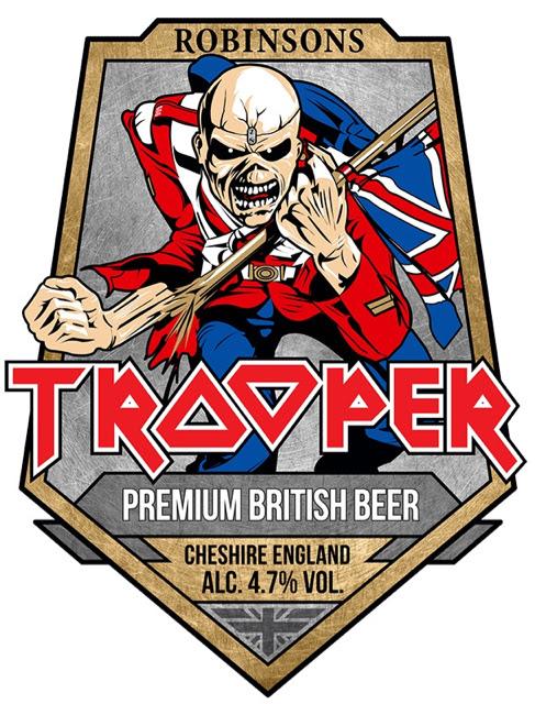 trooper cerveja