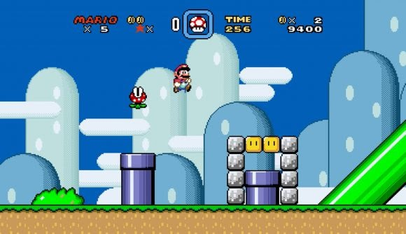 SNES games in real widescreen
