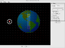 Screenshot of the simulation Magnet and Compass