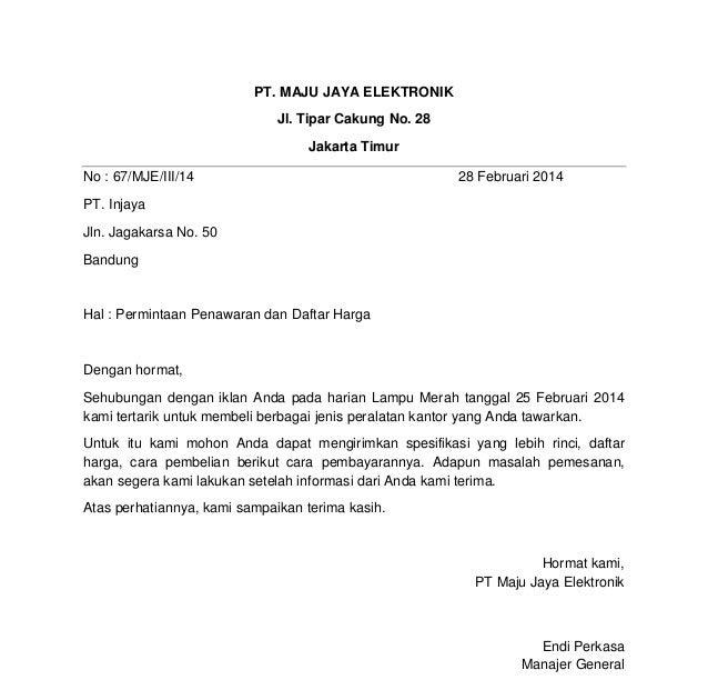 Contoh Surat Elektronik Email Contoh Gil